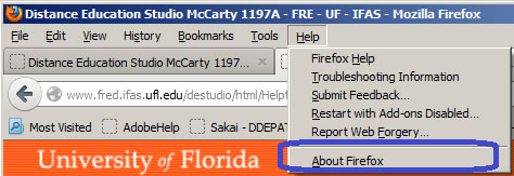 Distance Education Studio McCarty 1197A - FRE - UF - IFAS